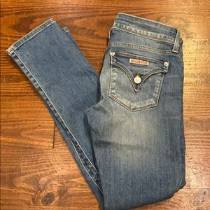 Hudson sz 25 Ginny straight cut, ankle jeans